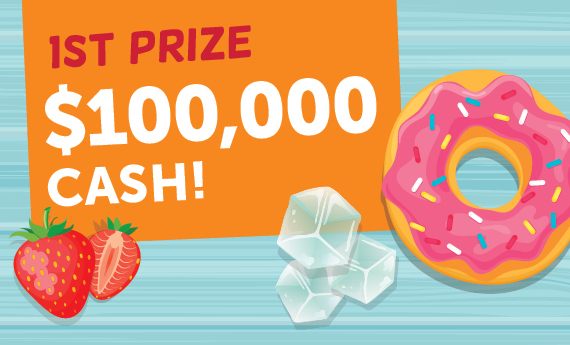 First Prize $100,000 Cash