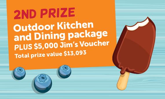 Second Prize Outdoor Kitchen and Dining Package